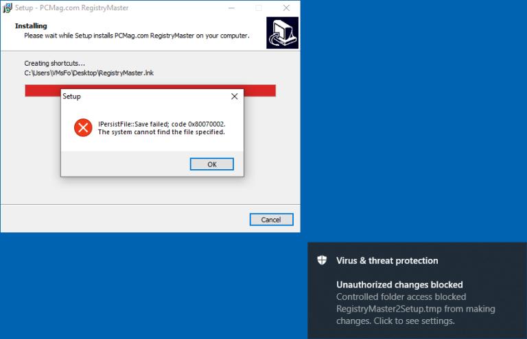 ویژگی حفاظت در برابر باج افزار ویندوز دیفندر