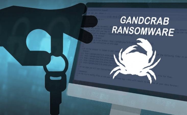 رمزگشایی باج افزار GandCrab